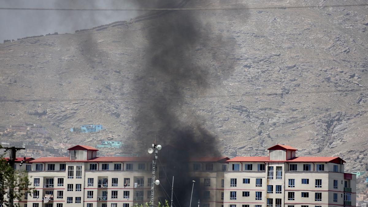 काबुल में विस्फोट, 34 की मौत, तालिबान ने ली जिम्मेदारी
