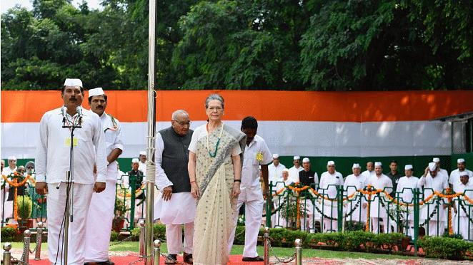 73वें स्वतंत्रता दिवस पर  सोनिया गांधी का देश को संदेश, कहा-असहिष्णुता और अन्याय के लिए देश में नहीं कोई स्थान