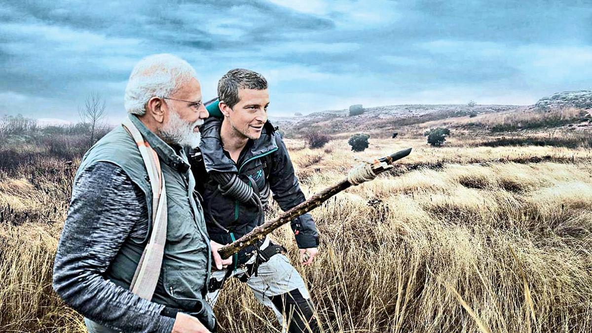 अब हुआ खुलासा- बेयर ग्रिल्स ने कैसे समझी 'मैन वर्सेज वाइल्ड' की शूटिंग के दौरान पीएम मोदी की हिंदी में बात