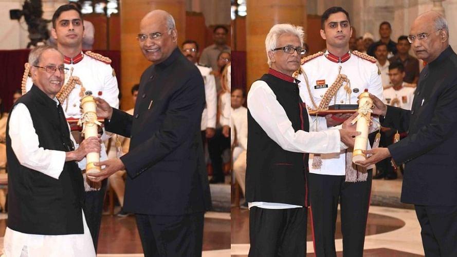 भारत रत्न से सम्मानित हुए प्रणब मुखर्जी, जनसंघ के नानाजी देशमुख और भूपेन हजारिका को भी सम्मान