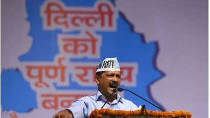 दिल्ली के लिए पूर्ण राज्य और कश्मीर के टुकड़े होने पर मोदी का साथ, चुनावी हार के डर से  केजरीवाल ने बदले सुर