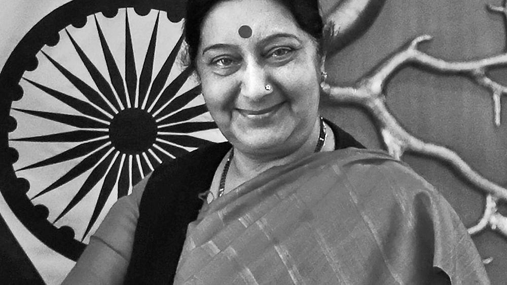 पूर्व विदेश मंत्री सुषमा स्वराज का निधन, दिल का दौरा पड़ने पर दिल्ली के एम्स में कराया गया था भर्ती