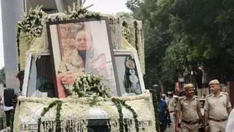 पंचतत्व में विलीन हुए अरुण जेटली, राजकीय सम्मान के साथ अंतिम विदाई