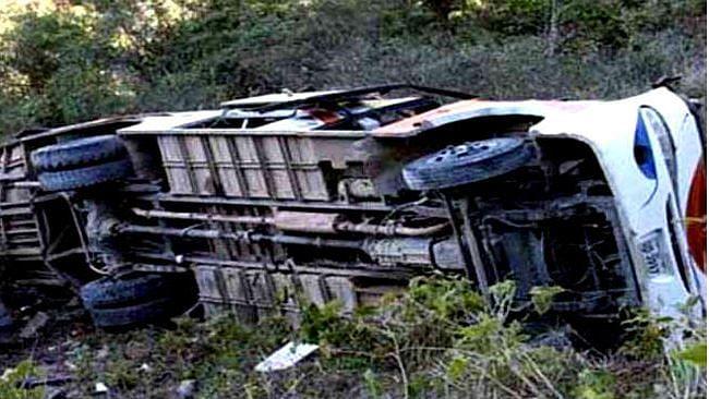 उत्तराखंड: टिहरी गढ़वाल में स्कूल बस के खाई में गिरने से 7 बच्चों की दर्दनाक मौत, 18 बच्चे थे सवार