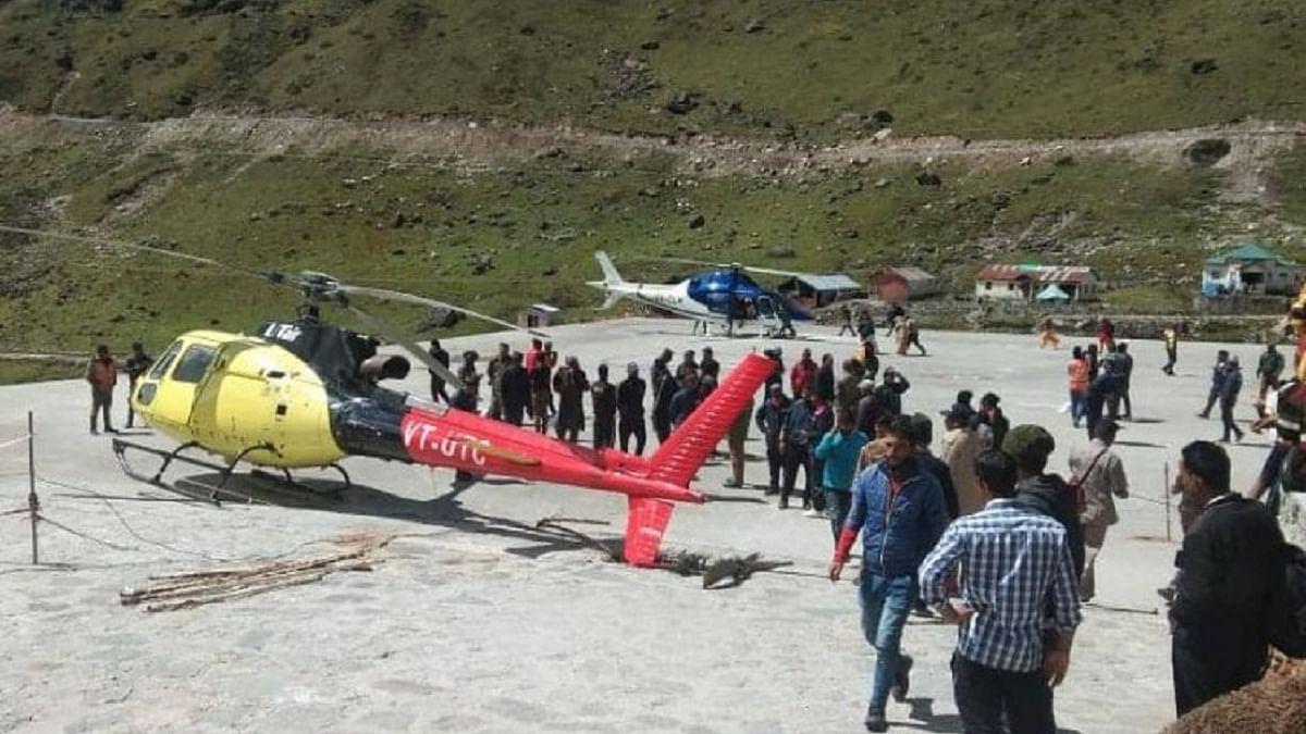 उत्तराखंड के केदारनाथ में क्रैश हुआ हेलीकॉप्टर, 6 यात्री थे सवार, राज्य में एक महीने में ये तीसरा हादसा