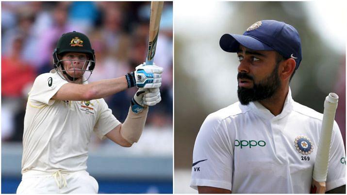 विराट कोहली ने आईसीसी टेस्ट रैंकिंग में गंवाया शीर्ष स्थान, स्टीव स्मिथ बने नंबर-1