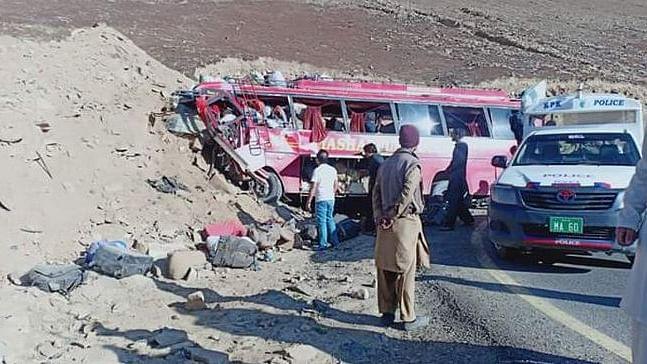 पाकिस्तान में सड़क हादसे से कोहराम, गिलगित-बलिस्तान में सड़क दुर्घटना में 26 लोगों की दर्दनाक मौत