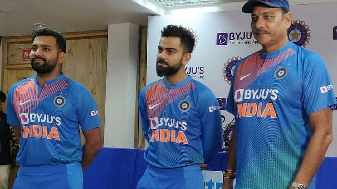 धर्मशाला: जर्सी पर नए प्रायोजक BYJU'S के नाम के साथ आज पहला मैच खेलेगी टीम इंडिया
