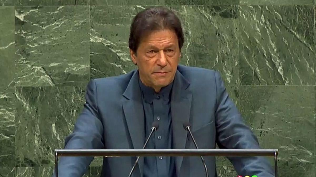 संयुक्त राष्ट्र में PAK पीएम इमरान कर गए बड़ी गलती, सोशल मीडिया पर उड़ रहा जमकर मजाक
