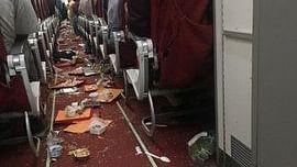 बड़ी खबर LIVE: हवा में एयर इंडिया के विमान पर तूफान का कहर, चालक दल को आई चोट, यात्री सुरक्षित