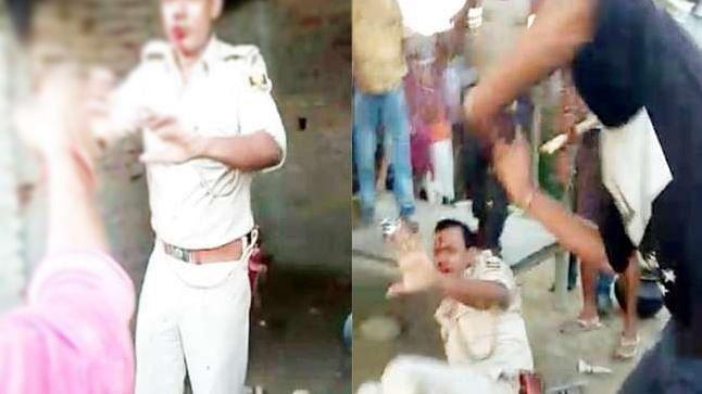 'सुशासन बाबू' के राज में 'खाकी' भी नहीं सुरक्षित, मुजफ्फरपुर में ग्रामीणों ने पुलिस को दौड़ा-दौड़ाकर पीटा
