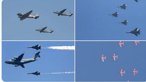 Air Force Day: पाक को धूल चटाने वाले अभिनंदन, बालाकोट में बम बरसाने वाले जांबाजों की उड़ान, दुनिया ने देखी ताकत