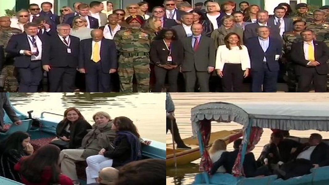 डल झील की सैर के साथ यूरोपीय सासंदों ने किया श्रीनगर का 'सरकारी' दौरा, लेकिन देश के सांसदों पर क्यों है पाबंदी !