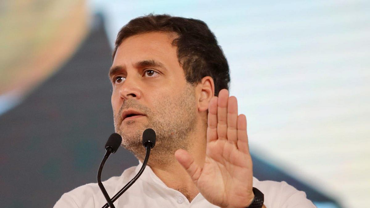 'अबकी बार ट्रंप सरकार' वाले नारे को लेकर राहुल का मोदी पर वार- PM को कूटनीति सीखने की दरकार