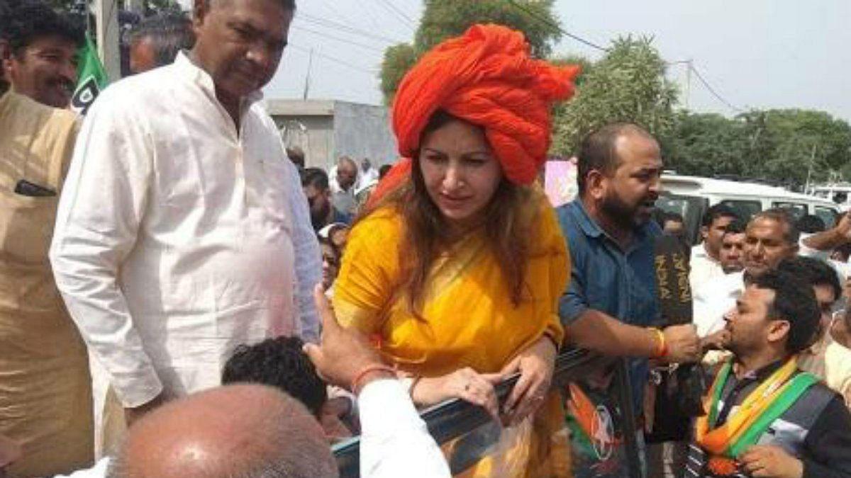 पहले बीजेपी उम्मीदवार ने 'भारत माता की जय' नहीं बोलने वालों पर दिया विवादित बयान, अब बवाल मचने पर मांगी माफी