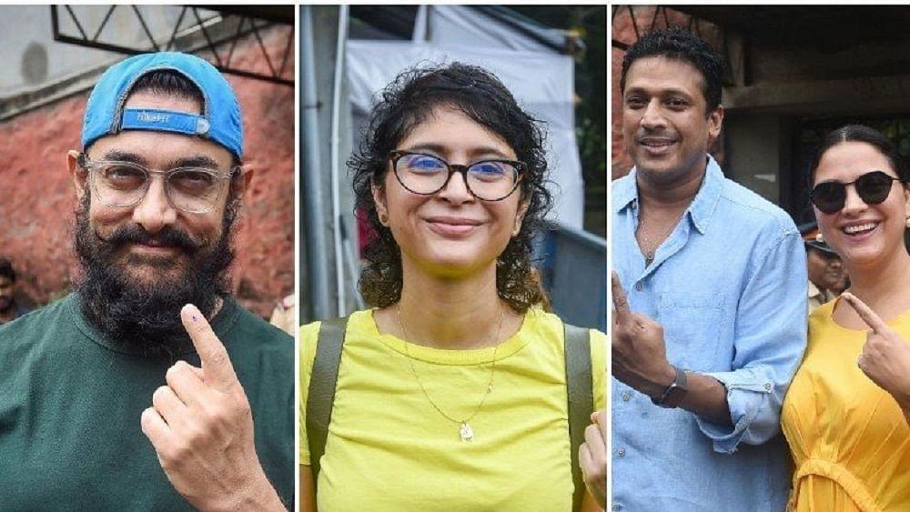 महाराष्ट्र-हरियाणा चुनाव: आमिर खान समेत इन सितारों ने डाले वोट, लोगों से की मतदान की अपील