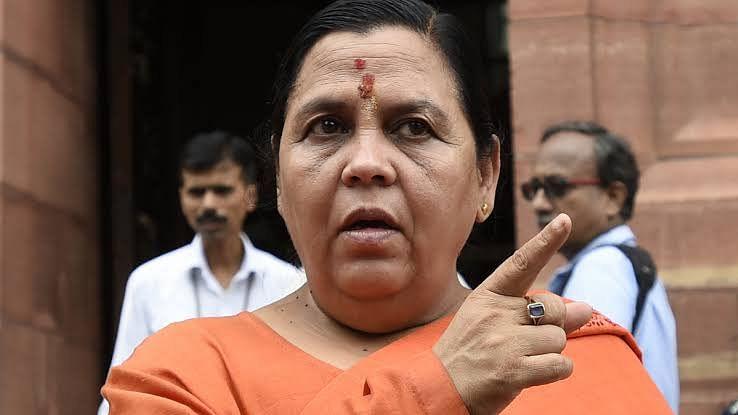 गोपाल कांडा से समर्थन लेने पर उमा भारती ने BJP पर उठाए सवाल, कहा- पार्टी अपनी नैतिकता न भूले