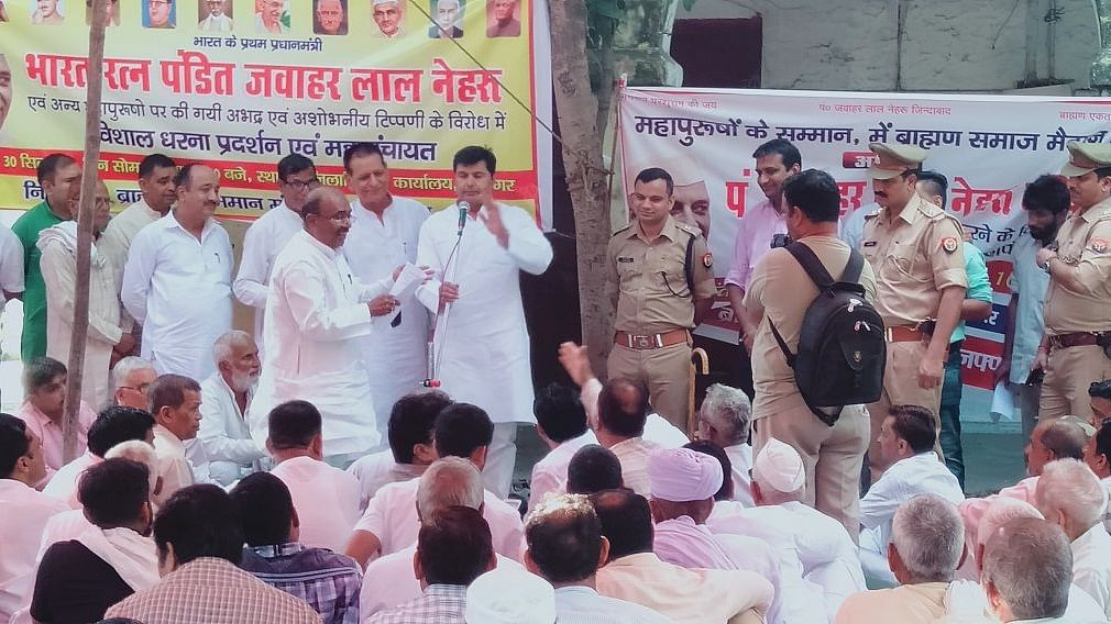मुजफ्फरनगर: पंडित नेहरू पर बीजेपी विधायक की आपत्तिजनक टिप्पणी से ब्राह्मणों में उबाल, गांव-गांव हो रही पंचायत