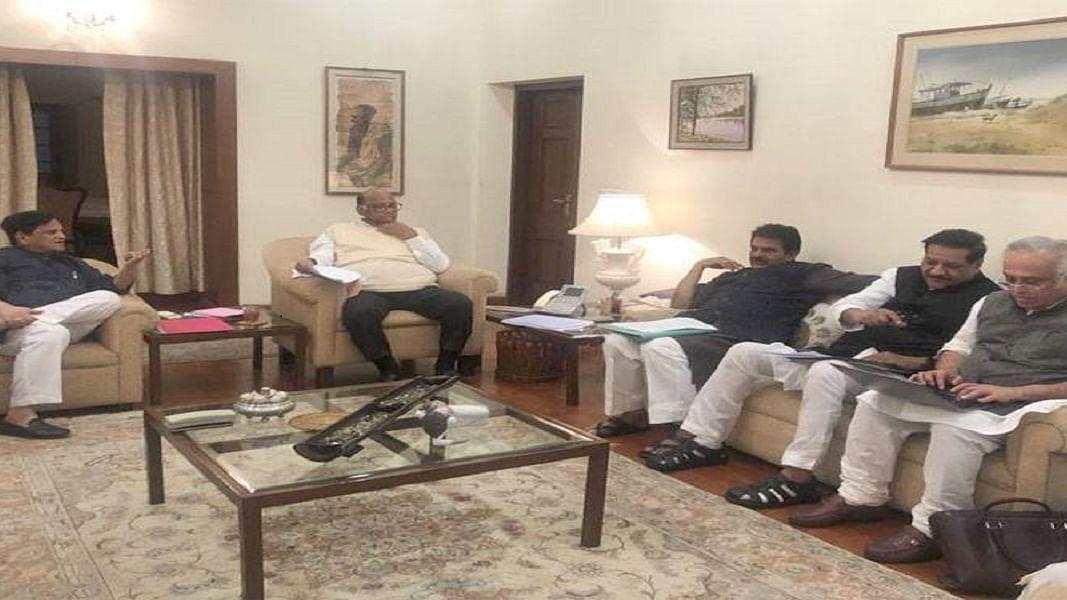 महाराष्ट्र पर कांग्रेस-एनसीपी की आज की बैठक खत्म, शिवसेना का दावा- दो से चार दिन में बन जाएगी सरकार