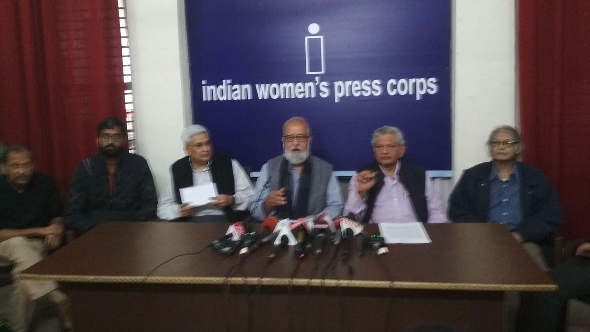लोकतांत्रिक मूल्यों को निशाना बना रही है  सरकार: JNU  के पूर्व छात्रसंघ अध्यक्षों का देश भर में विरोध का ऐलान