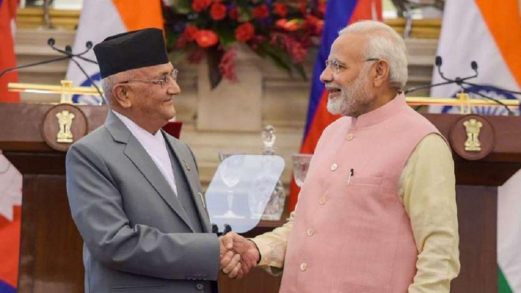 पाकिस्तान के बाद अब नेपाल ने दिखाई आंखें, भारत के नए नक्शे पर उठाई उंगली, चीन की शरण में जाने के दिए संकेत