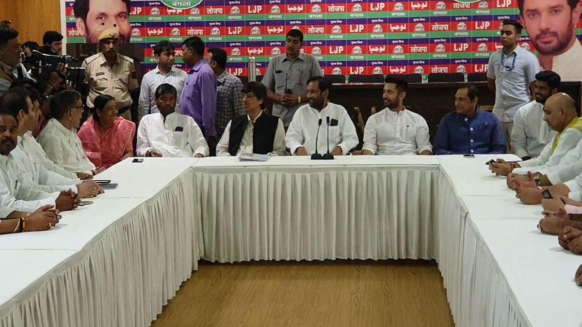 झारखंड: विधानसभा चुनाव के लिए सीटों के बंटवारे को लेकर NDA में तकरार, 6 सीटों की मांग पर अड़ी LJP
