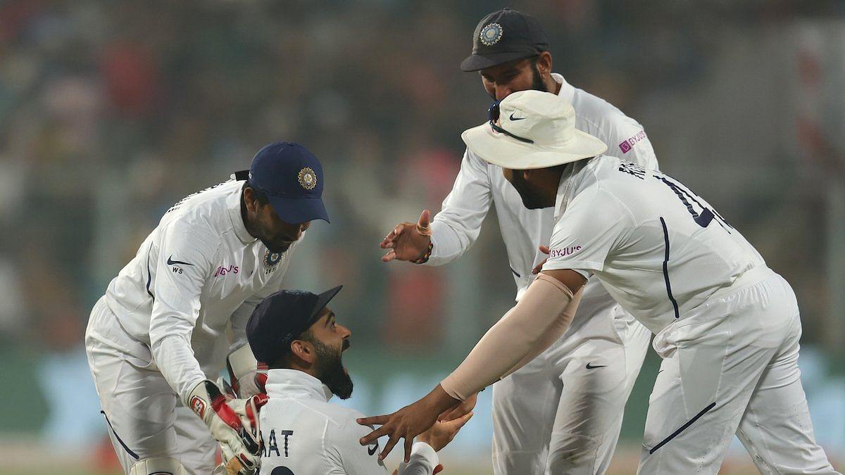 कोलकाता टेस्ट में भारत की शानदार जीत, बांग्लादेश को पारी और 46 रनों से दी करारी शिकस्त