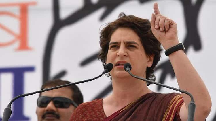 योगी सरकार में किसानों पर बर्बरता, प्रियंका गांधी बोलीं- ऐसी निर्दयता पर शर्म से आंखें झुक जानी चाहिए