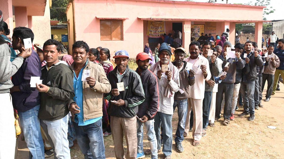 झारखंड में तीसरे चरण का मतदान शांतिपूर्वक संपन्न, 62.0 प्रतिशत ज्यादा पड़े वोट