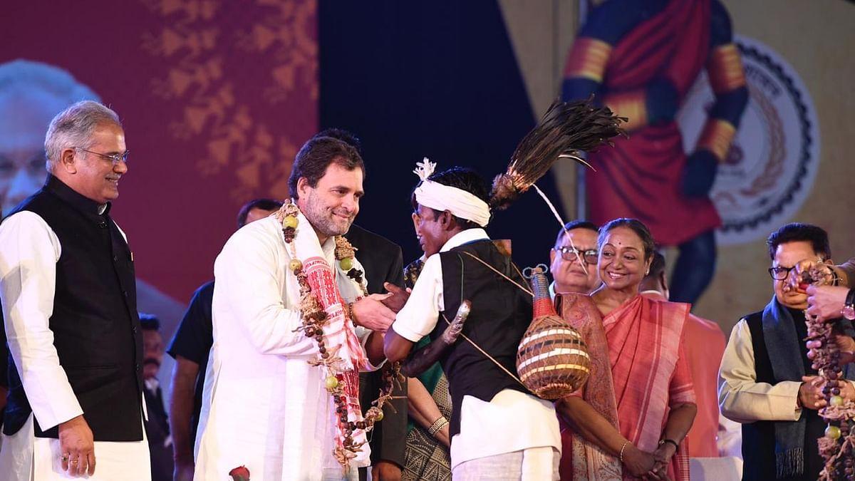 छत्तीसगढ़ में राहुल का मोदी सरकार पर हमला, कहा- सभी धर्मों के लोगों को साथ लिए बिना नहीं चल पाएगी अर्थव्यवस्था
