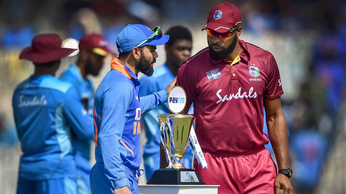 कटक वनडे मैच में भारत ने वेस्टइंडीज को 4 विकेट से दी पटखनी,  विराट, रोहित  और राहुल ने खेली अर्धशतकीय पारी