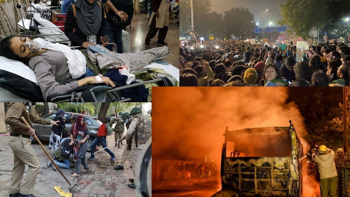 जामिया के बाद अलीगढ़ में लाठीचार्ज, दिल्ली पुलिस HQ पर प्रदर्शन, विपक्ष ने केंद्र को जिम्मेदार ठहराया