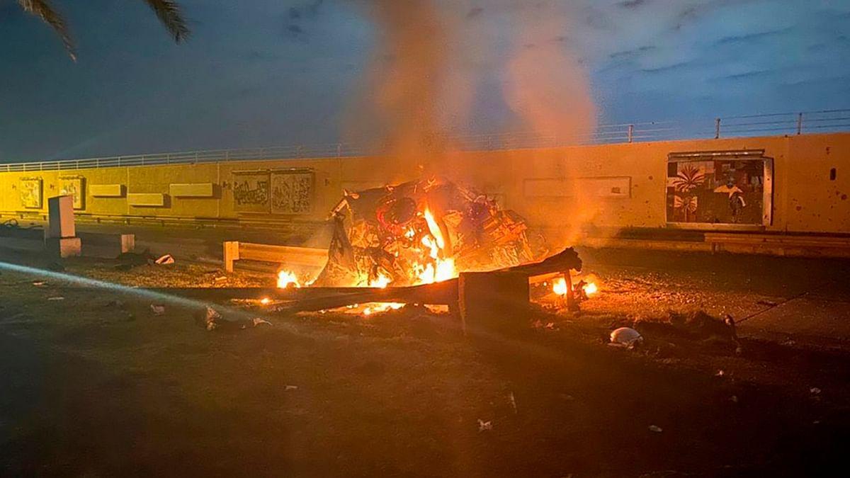 ईरानी जनरल कासिम सुलेमानी की हत्या के बाद गंभीर हुए हालात, बगदाद में अमेरिकी दूतावास और एयरबेस पर हमला