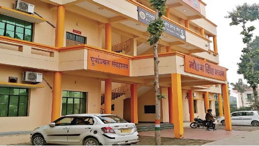 गोरखपुर में 'भगवा' बना 'सरकार' को खुश करने का जरिया, प्रशासन से  बाजार तक चढ़ा योगी का रंग