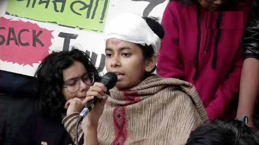 JNU छात्रसंघ अध्यक्ष आईशी के खिलाफ पुलिस ने दर्ज किया केस, यूनिवर्सिटी प्रशासन ने तोड़फोड़ का लगाया आरोप