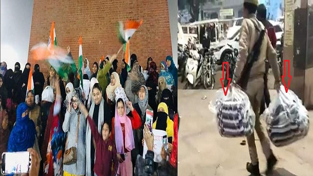 लखनऊ में CAA के खिलाफ प्रदर्शन कर रही महिलाओं से पुलिस ने छीने खाने के सामान और कंबल, मौके से पुरुषों को खदेड़ा