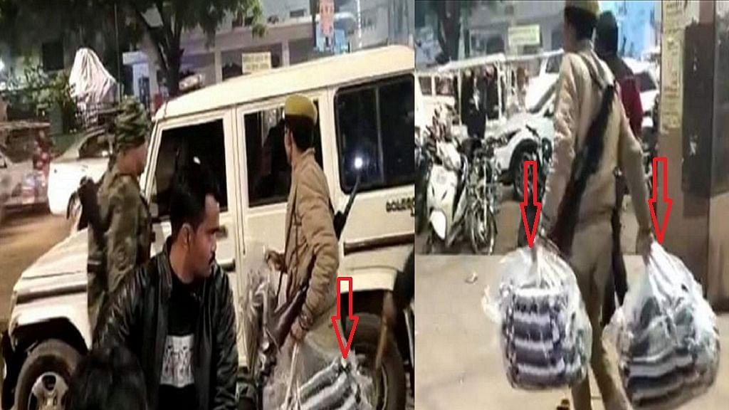 वीडियो: ये है योगी की 'बहादुर' पुलिस? कड़ाके की सर्दी में CAA के खिलाफ प्रदर्शन कर रही महिलाओं से छीन ले गई कंबल