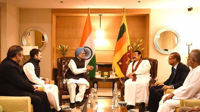 श्रीलंका के पीएम राजपक्षे से मुलाकात पर राहुल बोले- दोनों देशों के बीच संबंधों को मजबूत बनाने पर हुई चर्चा