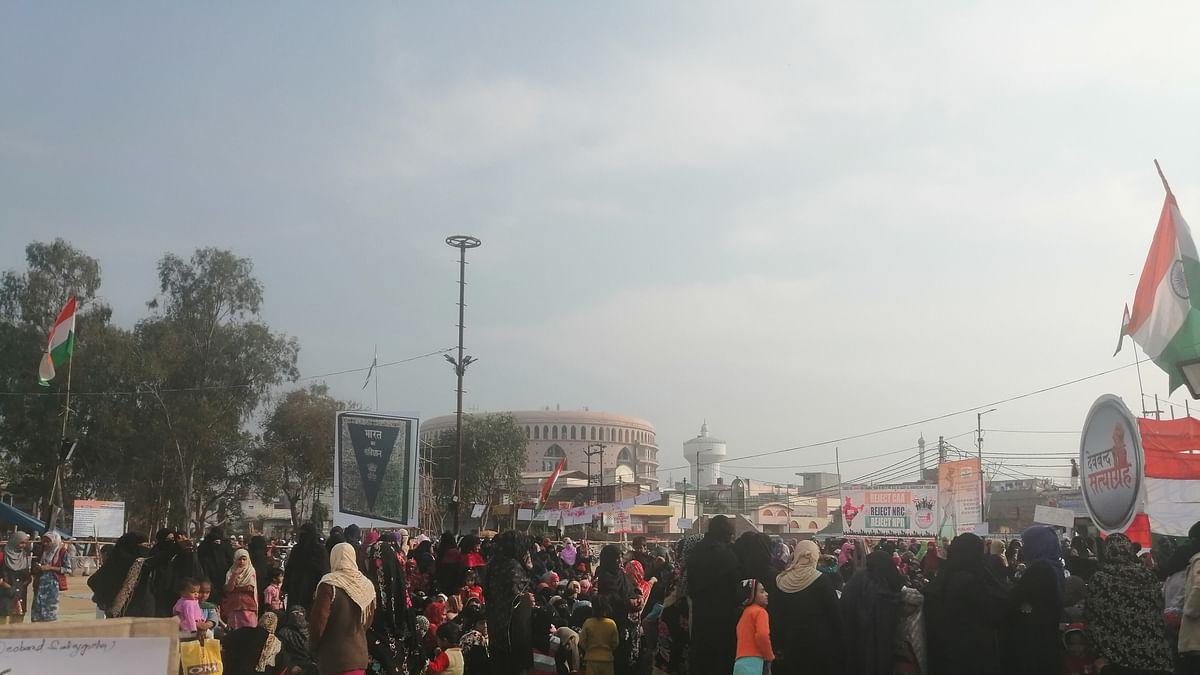 CAA-NRC के विरोध में देवबंद की महिलाओं का प्रदर्शन, कहा- यह निजी लड़ाई नहीं, लोगों के भविष्य की लड़ाई है