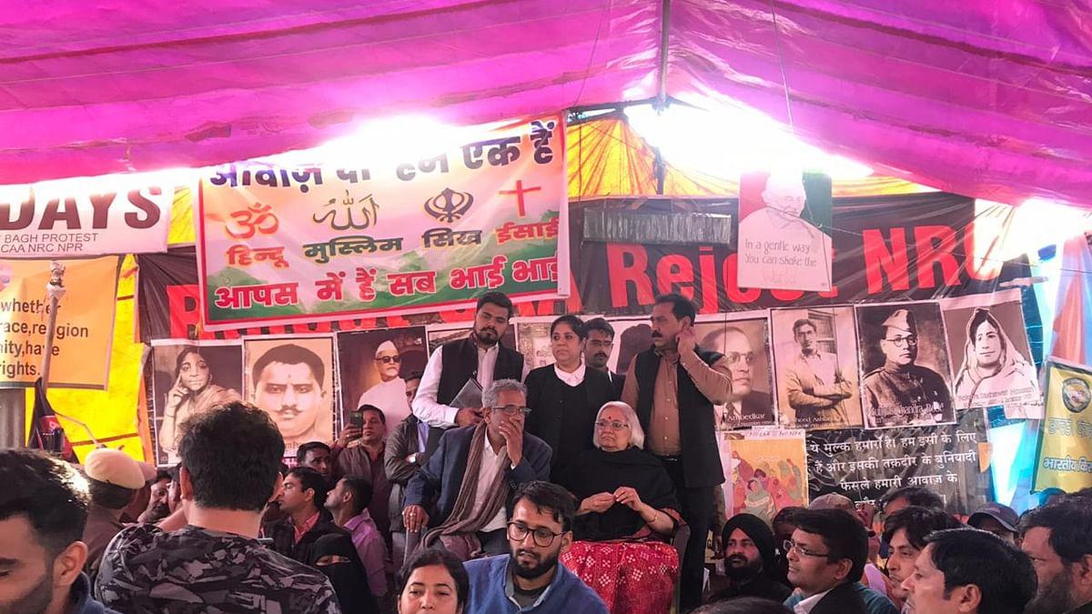 नवजीवन बुलेटिन: प्रदर्शनकारियों से बोलीं साधना रामचंद्रन- शाहीन बाग बरकरार है और रहेगा