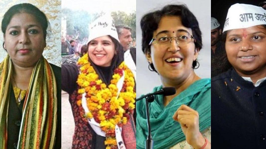 दिल्ली चुनाव में 8 महिलाओं ने मारी बाजी, एक को छोड़ 'आप' की सभी उम्मीदवार जीतीं