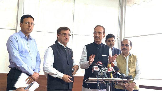 प्रजातंत्र का चीर हरण कर सत्ता की भूख मिटाना चाहती है BJP, एमपी में लोकतंत्र की कब्र खोदने की साजिश: कांग्रेस