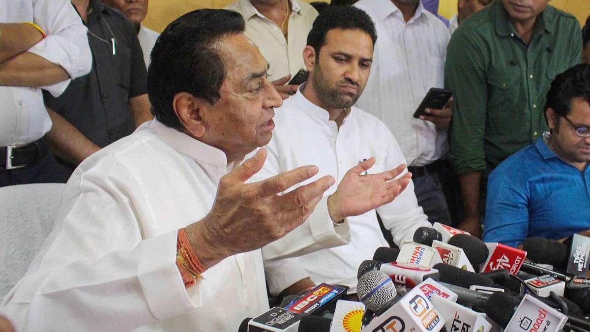मध्य प्रदेश के पूर्व सीएम कमलनाथ की PC में मौजूद पत्रकार को कोरोना, कई नेता और पत्रकारों के संक्रमित होने का खतरा!