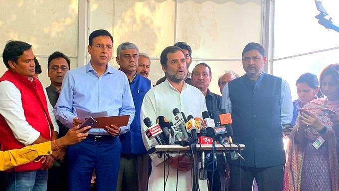 अर्थव्यवस्था पर प्रधानमंत्री मौन, वित्तमंत्री अनजान, कोरोना पर नहीं है कोई तैयारी: राहुल गांधी