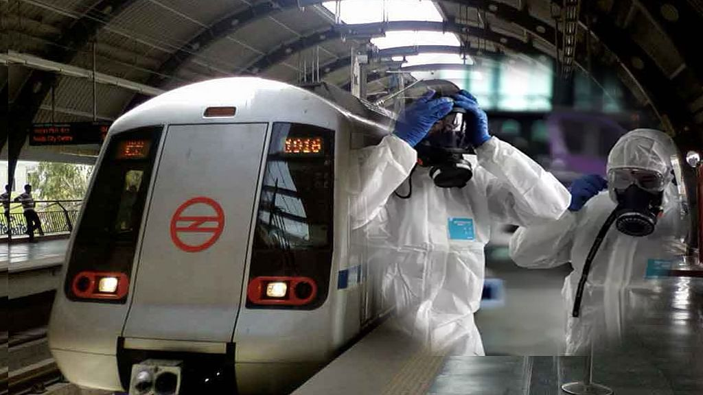 इतिहास में पहली बार! कोरोना ने रोकी मेट्रो की रफ्तार, DMRC ने बंद करने का किया ऐलान