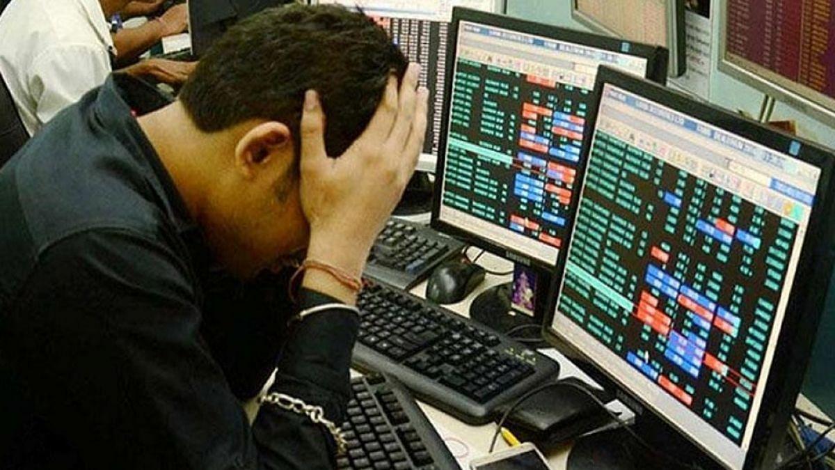शेयर बाजार ने बेरंग की होली, सेंसेक्स 1600 और निफ्टी 446 अंक धड़ाम, डूबे  लाखों करोड़ रुपये