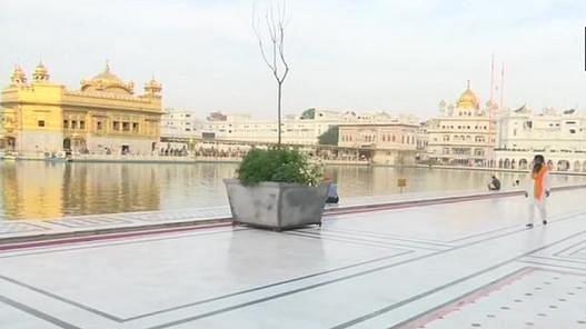 पंजाब: कोरोना के कारण बेरंग रही बैसाखी, स्वर्ण मंदिर में भी रहा सन्नाटा