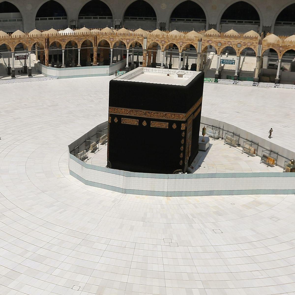सऊदी अरब ने मक्का और मदीना में कर्फ्यू लगाया (फोटो : सोशल मीडिया)