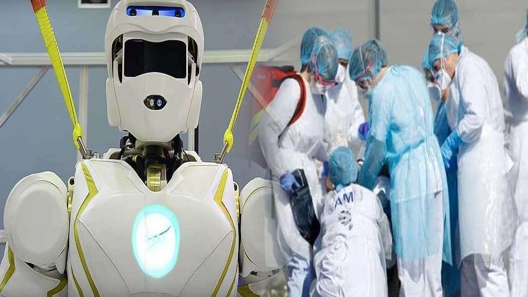 कमाल का रोबोट, कोरोना की चपेट में आने से बचाएगा! AIIMS में मेडिकल टीम की भी करेगा मदद