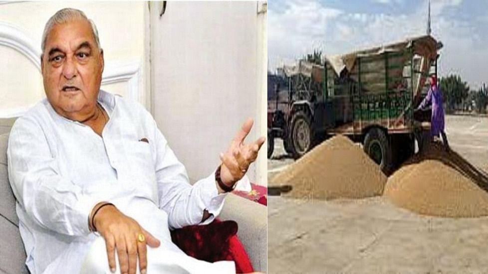 हरियाणाः किसानों की परेशानी पर हुड्डा ने सीएम खट्टर से की बात, कहा- ठीक करें मंडियों में फसल खरीद  व्यवस्था